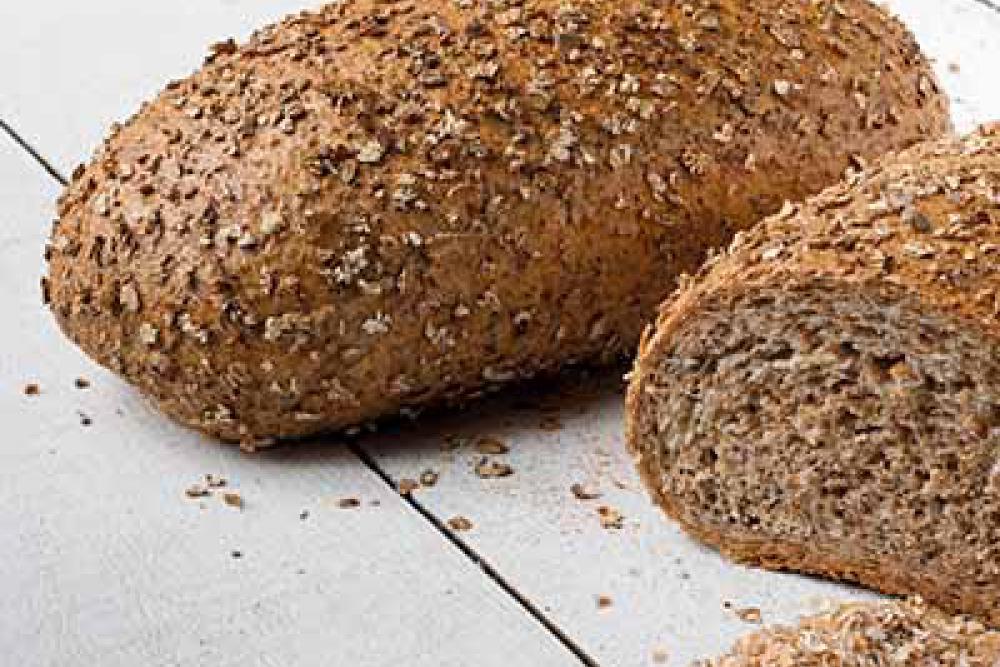 foto van donker volkorenbrood